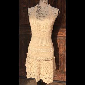 Mods International Crochet Dress